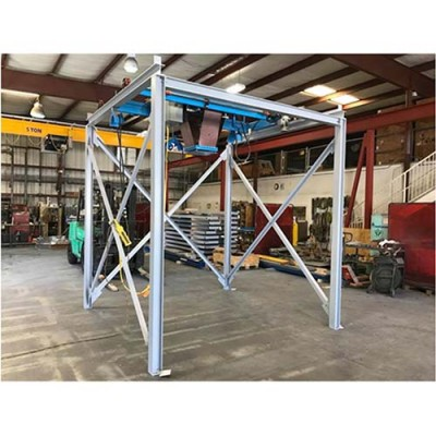 free standing overhead gantry system