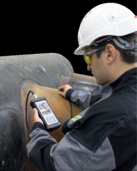 a-1270 measurement on pipe