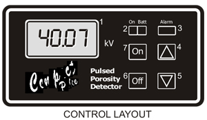 dc-compact-pulsed-porosity-detector-control-layout