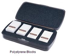 polystyrene blocks